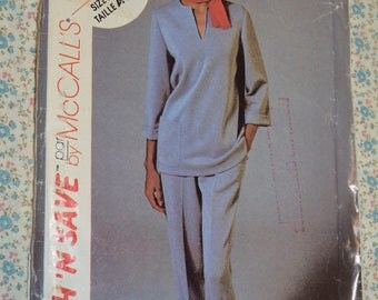 Stitch n Save 8802  Misses Top and Pants Sewing Pattern - UNCUT - Size 10 12 14