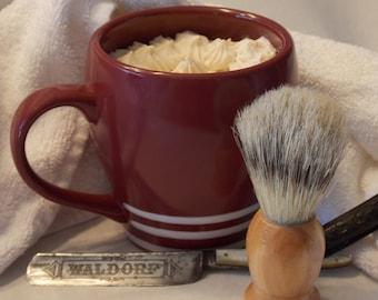 Shaving Mug with Shea Butter Soap