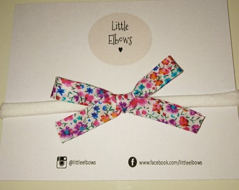 Liberty of London Phoebe N large bow headband or clip
