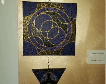 TRIS dotillism art paintings
