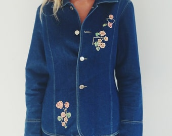 1980's Denim Jacket