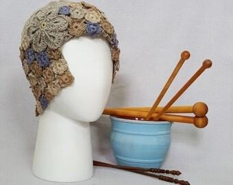 Crochet Slouchy Hat, Crochet Beanie Hat, Slouchy Cap, Beanies Caps, Womens Beanies, Crocheted Hats, Retro Design Hat, Vintage Design Hats