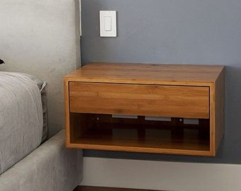 Modern floting night side table