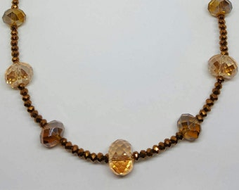 Hand made necklace.