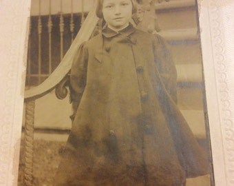 Vintage Photo Young Girl