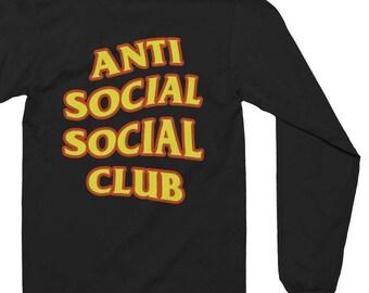 Anti Social Social Club T-shirt - Anti Social Social Club Sweatshirt - Kanye West Shirt - assc - yeezy Shirt - Yeezus Shirt - Yeezus