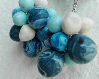 Ocean color polymer stones