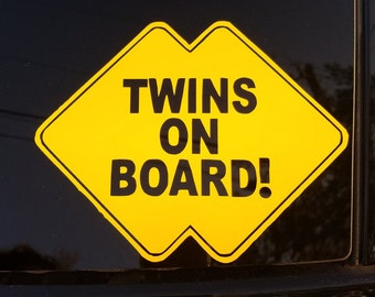 Twins Safety Decal