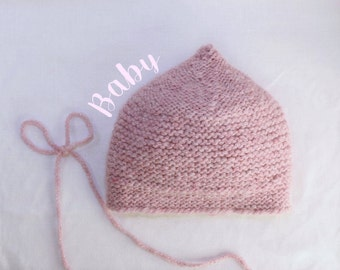 Pink & Sparkly Baby Hat