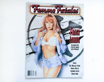 Femme Fatales Magazine - Spring 1993 Issue - Traci Lords