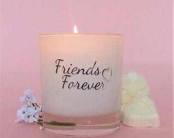Personalised friendship gift,Sister gift,sentimental gift,friend gift,scented soy candles,handmade