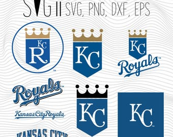Kansas City Royals SVG, Kansas City Clipart, Kansas City SVG, City Royals Clipart, Kansas City Clipart, Clipart SVG Files Kansas City Royals