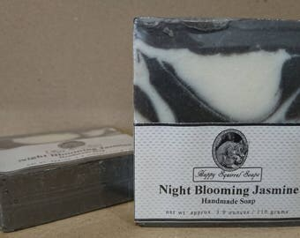 Night Blooming Jasmine Handmade Soap,  Natural Skincare, Homemade Soap, UK, Bar Soap, Cold Process Soap, Exfoliating