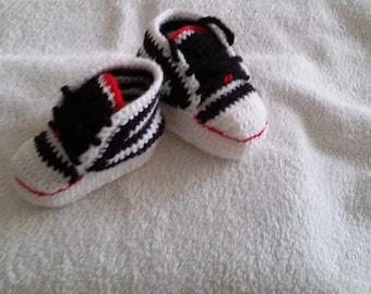 Scarpetine for infant crochet