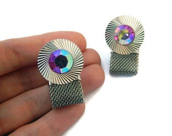 Soviet Cufflinks Russian Cufflinks USSR Cufflinks Metal Cufflinks Police Officer Gift Crystal Cufflinks Steel Cufflinks Mens Cufflinks