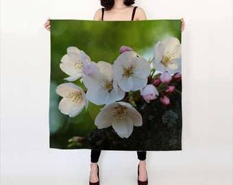 Cherry Blossom Silk Scarf (Washington, D.C.)
