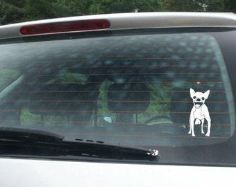 FUNNY!! (3) Big Dog Vinyl Sticker Decals!! Gag gift, prank!!