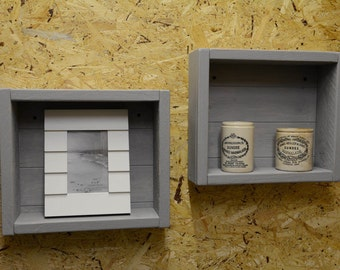 Rustic Wall Boxes Shabby Chic