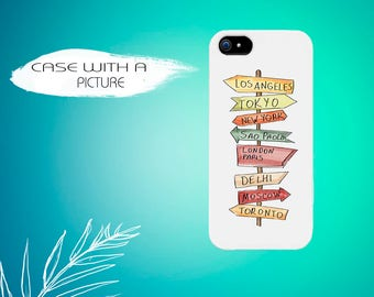 Personalized phone case  travelling FREE WORLDWIDE SHIPPING
