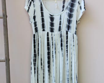 Empire Waist Tie Dye Dress