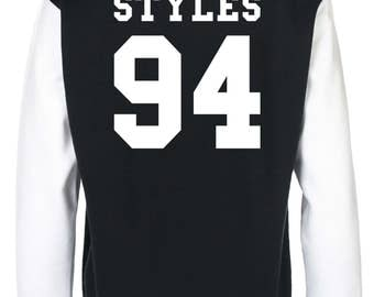 Harry Styles One Direction Varsity Jacket