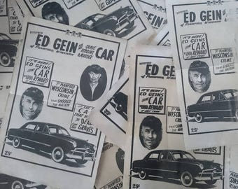 Ed Gein Car Poster - ON SALE