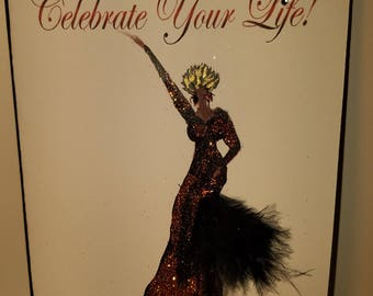 Celebrate Your Life, Greeting Card