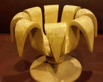 Birch Decorative Turned Bowl