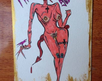 Succubus Fantasies postcard from the beyond