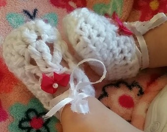 Baby ballet slippers