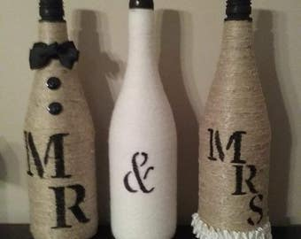 Mr and Mrs Wedding Decor