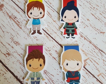 Princes (3) || Magnetic Bookmark