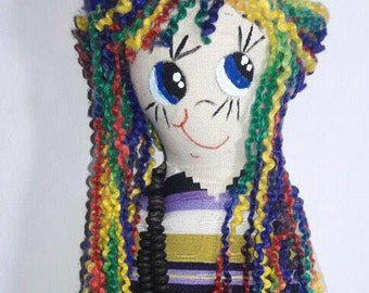 Luna Doll Handmade Craft