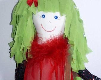 Tina Doll Handmade Craft