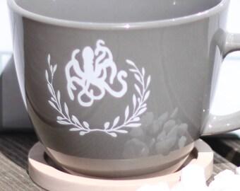 Beautiful Kraken, Giant Octapus - Elegant Cryptozoology Coffee Mug