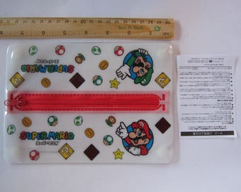 Super MARIO Nintendo - Pencil case - Japan license