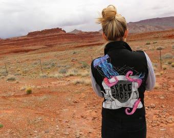 SPACE CADET || Custom Painted Jacket