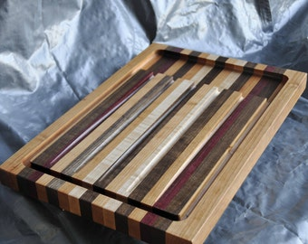Cutting Board  -  Carving Board   -   Solid Wood