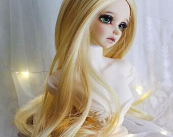 1/3bjd sd wigs , Blonde Long Curly hair T301