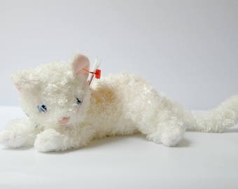 Ty Beanie Babies Starlett the White Cat - Retired