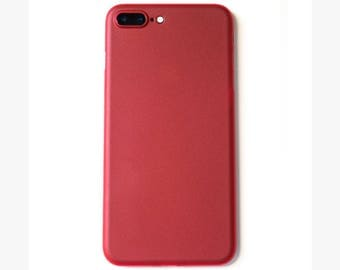 Super Thin iPhone 7 Plus Case | Red - SimpliCase
