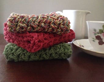 Handmade Cotton Dishcloths