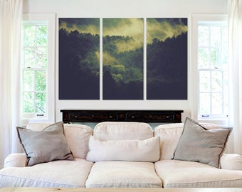 Misty Forest - Canvas Art
