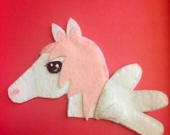 Pink Pegasus Patch