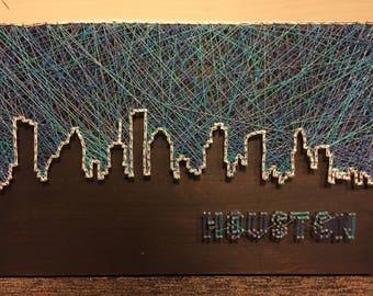 Houston Skyline Piece