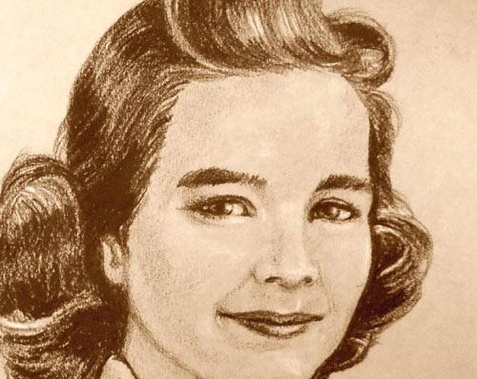 Custom Portrait Drawing by artist John Zebley, from Cherished Family Photos
