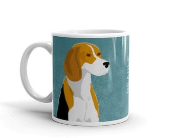 Gifts for Pets- Pet Gifts for People- Gifts for Men- Dog Coffee Mug- Husband Gift- Beagle Mug- Dog Mug- Dog Gift- for Dog Lover Gift for Him
