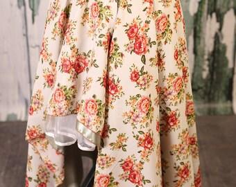 Size L/XL Rose Garden Crescent Skirt