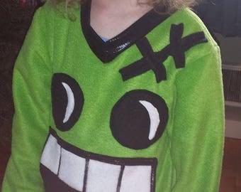 Frankenstein Monster Fleece Pullover