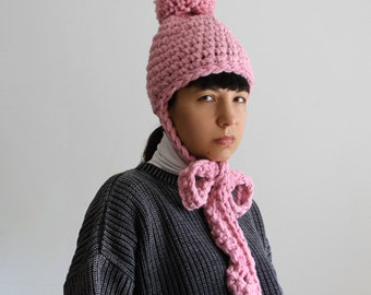The English Thompson Hat in Baby Soft Pink.